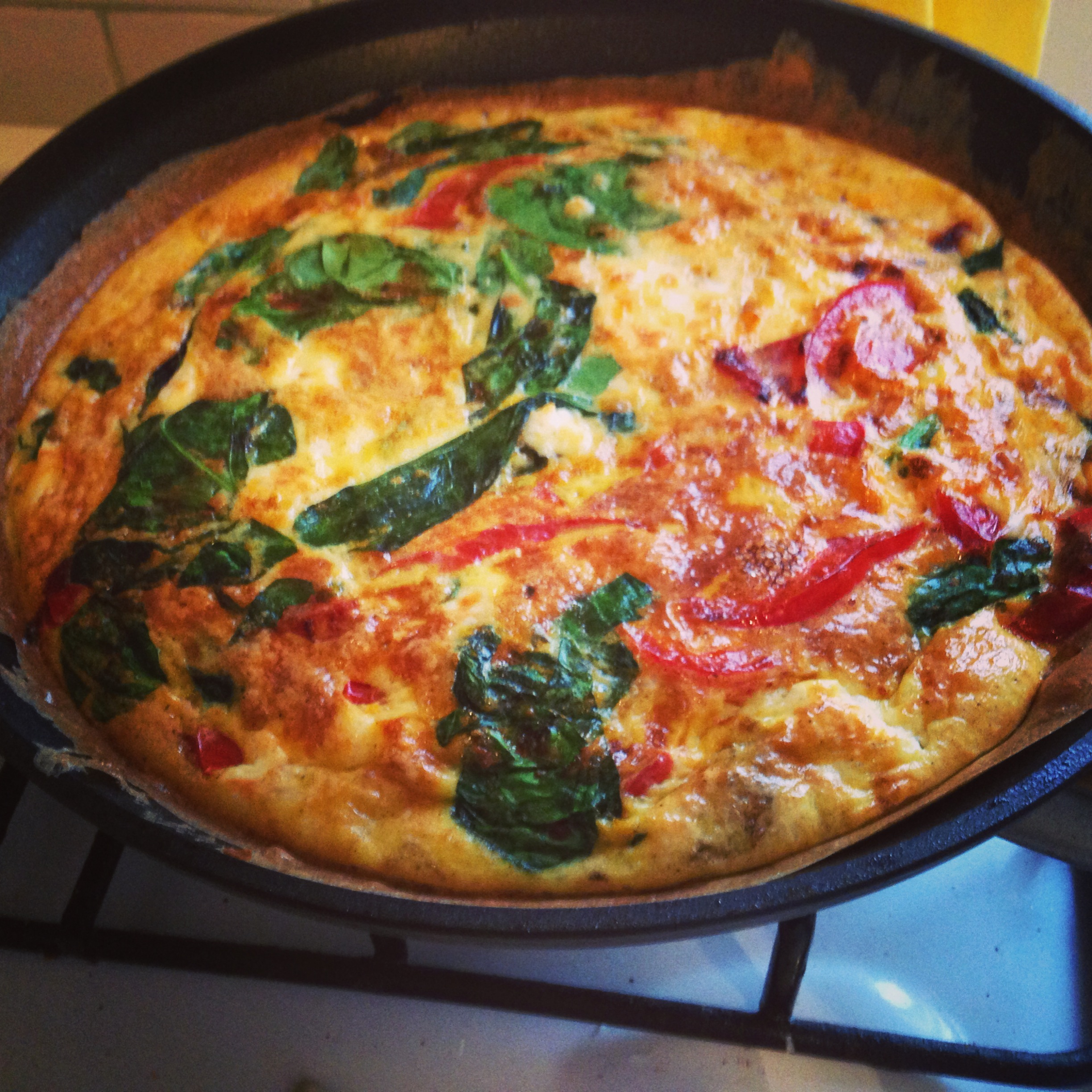 cheese frittata feta cheese and avocado mini frittata for two baked ...